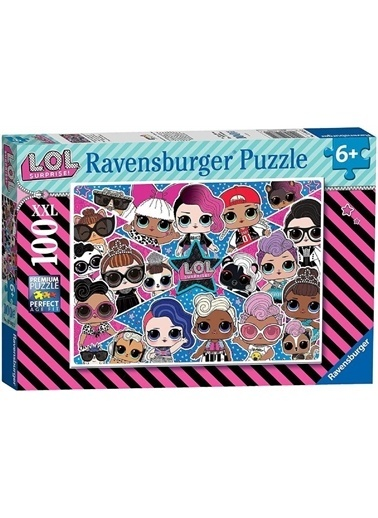 Ravensburger 100 Parça Puzzle  RPK128822 Renkli